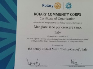 Certificato GROC